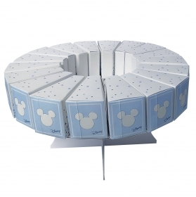 FAVOR CAKE with 18 Boxes Portaconfetti DISNEY MICKEY mouse - MICKEY
