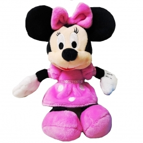 PLUSH WALT DISNEY MINNIE ROADSTER - 20 cm