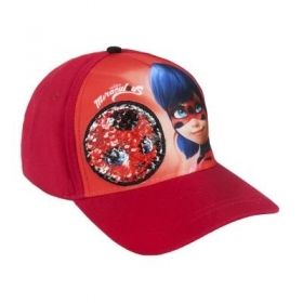 HAT with Visor - CAP with Pajets MIRACULOUS LADYBUG