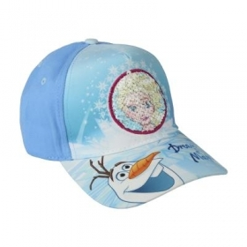 HAT with Visor - CAP with Pajets DISNEY FROZEN ELSA