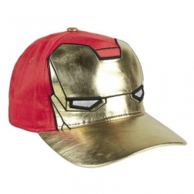 HAT with Visor - CAP, MARVEL AVENGERS IRON MAN