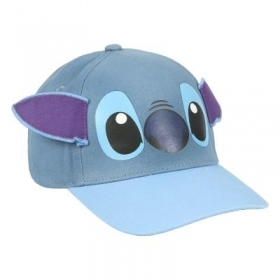 HAT with Visor - CAP - 3D- DISNEY Stich