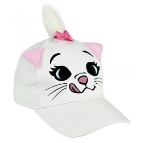 HAT with Visor - CAP - 3D- DISNEY ARISTOCATS MARIE