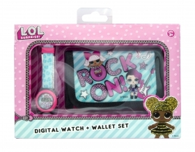 FANTASTIC SET - WRIST WATCH and WALLET LOL SURPRISE