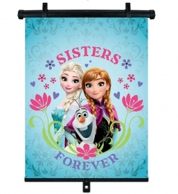Down from the sun roller 36x45 cm CAR - DISNEY FROZEN Elsa and Anna