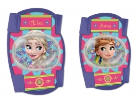PROTECTION on ELBOWS and KNEES - DISNEY FROZEN Elsa and Anna