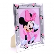 PHOTO FRAME in SILVER - DISNEY MINNIE mouse to