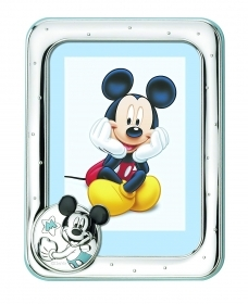 PHOTO FRAME in SILVER - DISNEY MICKEY Mickey mouse To