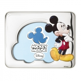 PHOTO FRAME in SILVER - DISNEY MICKEY Mickey mouse b