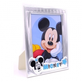 PHOTO FRAME, CUSTOMIZABLE in SILVER - DISNEY MICKEY MICKEY mouse