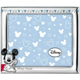 PHOTO FRAME in SILVER - DISNEY MICKEY Mickey mouse c