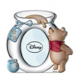 PHOTO FRAME in SILVER - DISNEY WINNIE THE POOH heavenly