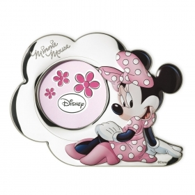 PHOTO FRAME 3D SILVER - DISNEY MINNIE mouse to