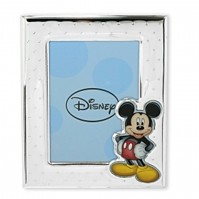 PHOTO FRAME in SILVER - DISNEY MICKEY Mickey mouse and