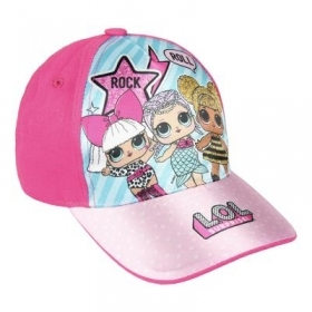 HAT with Visor - CAP - LOL SURPRISE rock and roll