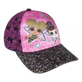 HAT with Visor - CAP - LOL SURPRISE glitter