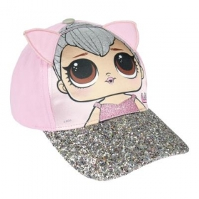 HAT with Visor - CAP - LOL SURPRISE glitter b