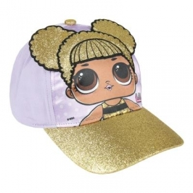 HAT with Visor - CAP - LOL SURPRISE glitter c