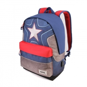 BACKPACK Running School and Leisure Time - MARVEL CAPTAIN AMERICA