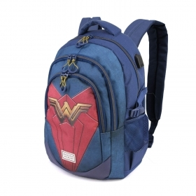 BACKPACK Running School and Leisure Time - WONDER WOMAN