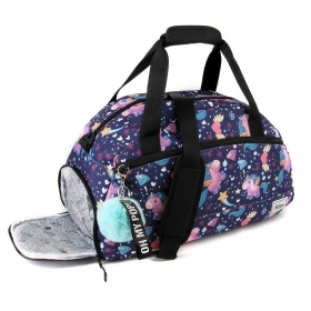 BAG DUFFEL bag with shoulder Strap from the Gym - OH MY POP UNICORNS