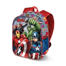 Folder School BACKPACK 3D - MARVEL AVENGERS