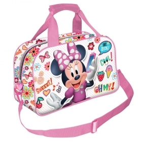 BAG DUFFEL bag with shoulder Strap, Gym-DISNEY MINNIE