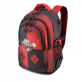 BACKPACK Running School and Free Time - BATMAN - Harley Quinn