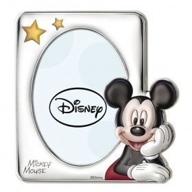PHOTO FRAME 3D SILVER - DISNEY MICKEY mouse