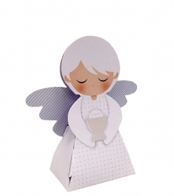 20 party FAVORS pencil CASE door confetti COMMUNION ANGEL from heaven