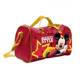 BAG DUFFEL bag with shoulder Strap from a Gym - DISNEY MICKEY mouse - 57886