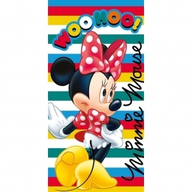 Beach TOWEL / swimming Pool DISNEY - MINNIE 70x140