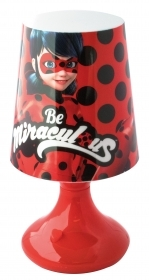 LED LAMP, MIRACULOUS LADYBUG - with Battery and On/Off Button