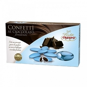 CONFETTI CRISPO CHOCOLATE - blue COLOR