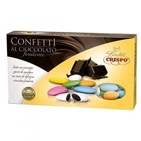 CONFETTI CRISPO CHOCOLATE ASSORTED COLOURS
