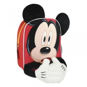 RUCKSACK Backpack School Nursery 3D - DISNEY MICKEY mouse new