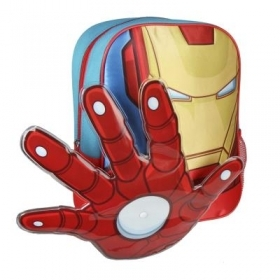 RUCKSACK Backpack School Nursery 3D - MARVEL Avengers IRON MAN