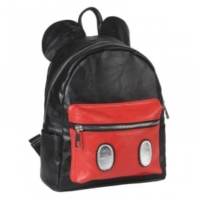 BACKPACK Backpack CASUAL FAUX leather School and Free Time - DISNEY MICKEY mouse