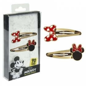 HAIR FERMATRECCINE CLIP-2 pieces, DISNEY MINNIE
