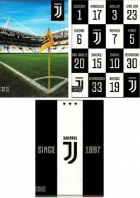 5 Quadernoni Notebooks and maxi/4 SEVEN - JUVENTUS - Lining B