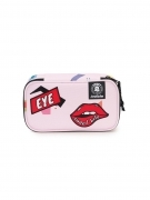 Astuccio Portapenne INVICTA Gate - LIP PENCIL BAG XL - Rosa - Scomparto interno