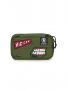 Astuccio Portapenne INVICTA Gate - LIP PENCIL BAG XL - verde Scomparto interno