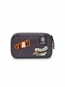 Astuccio Portapenne INVICTA Gate - LIP PENCIL BAG XL - grigio Scomparto interno