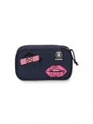 Astuccio Portapenne INVICTA Gate - LIP PENCIL BAG XL - blu - Scomparto interno