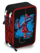 CASE SCHOOL 3 ZIP with 45 pieces - MARVEL SPIDERMAN