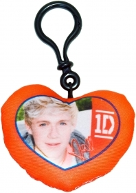 Keyring in Heart DISNEY PILLOW GROUP - ONE DIRECTION - NIALL