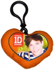 Keyring in Heart DISNEY PILLOW GROUP - ONE DIRECTION - LOUIS