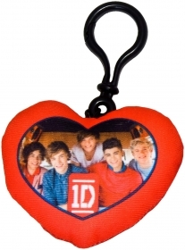 Keyring in Heart DISNEY PILLOW GROUP - ONE DIRECTION