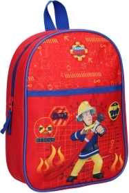 RUCKSACK Backpack School Nursery - SAM THE FIREMAN - FIREMAN