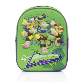 Folder Rucksack BACKPACK 3D - School Kindergarten ninja Turtles